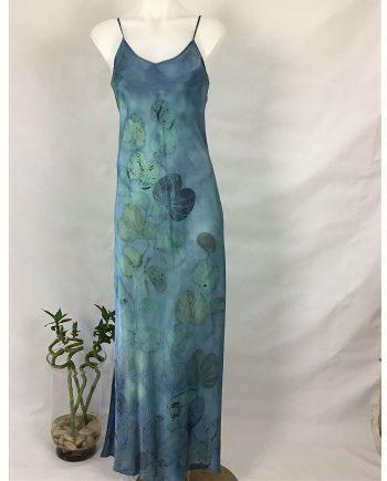 Silk Maxi Dress - Size 10
